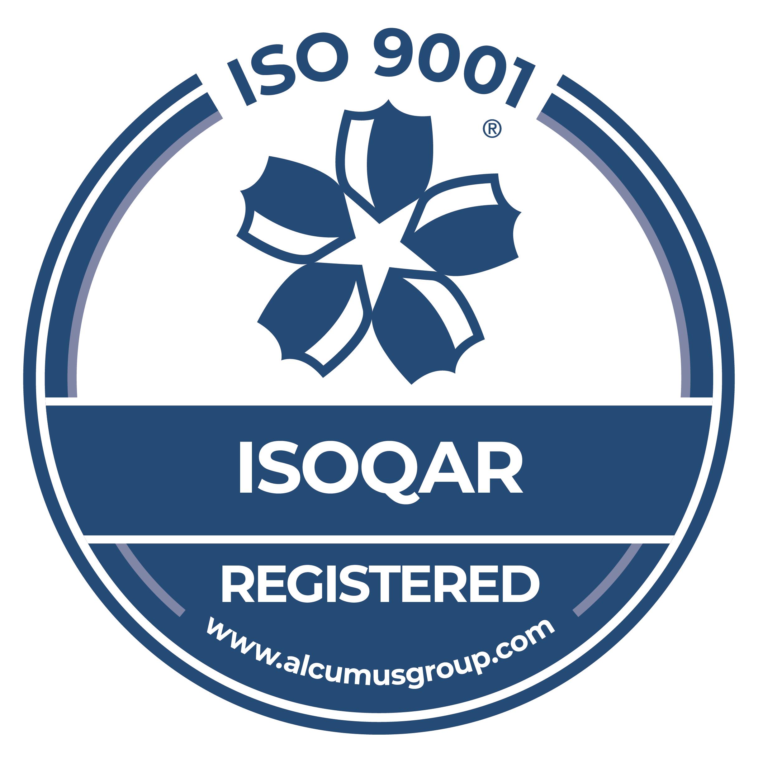 Seal-Colour-Alcumus-ISOQAR-9001