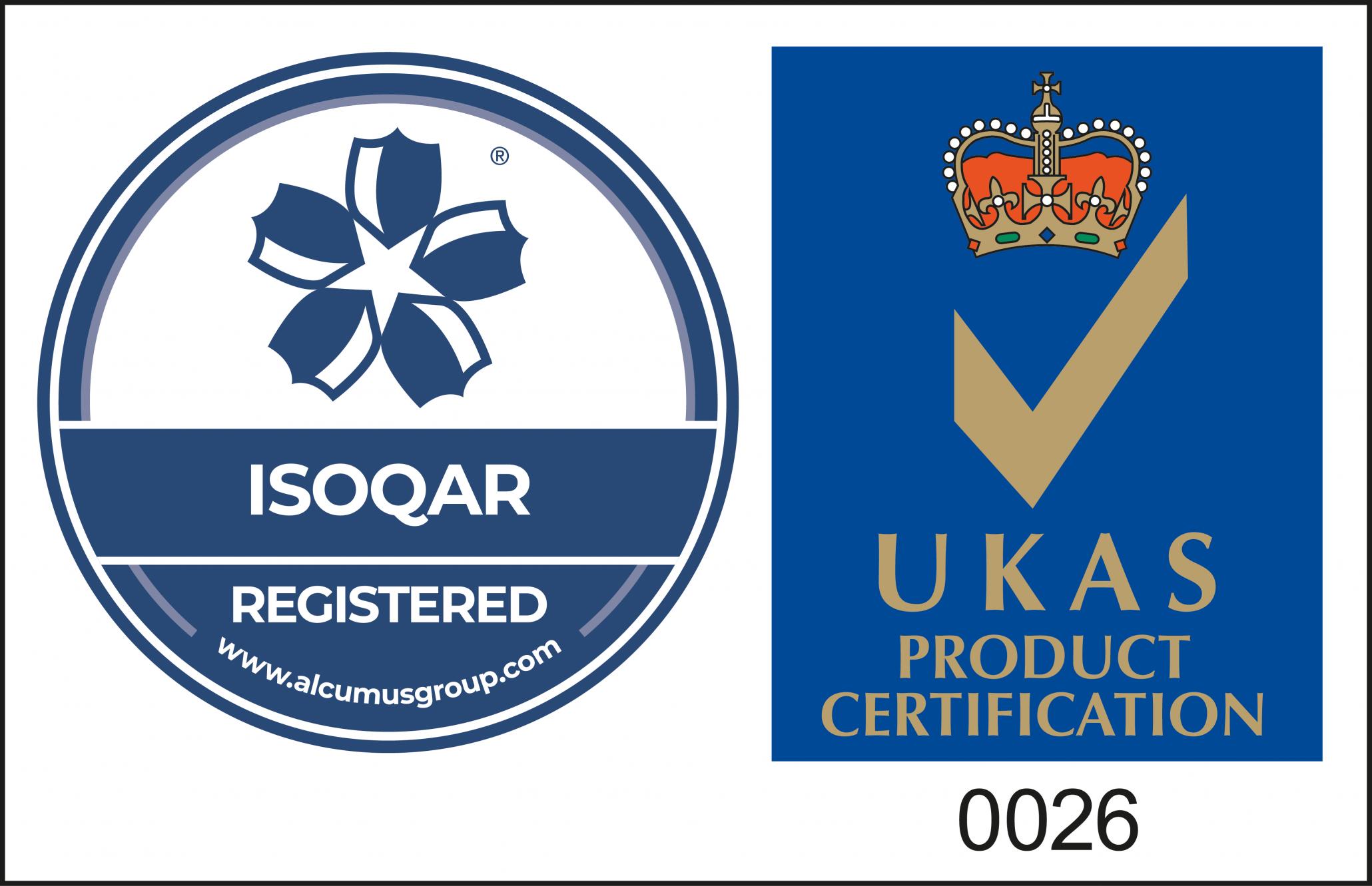 UKAS-ISOQAR-PCert-Mark-cl-27